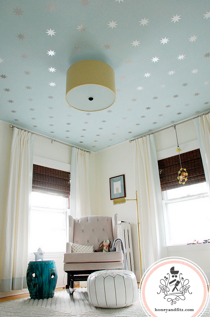Coronata Star Ceiling With Urban Wall Decals A Discount - Urban wall decals