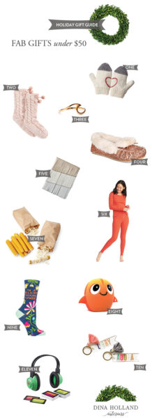 2017 Gift Guide under $50